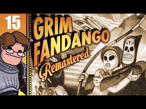 Let's Play Grim Fandango Remastered Part 15 (Patreon Chosen Game)