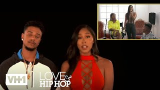 Brittany Questions Moniece & Booby Likes Apryl - Check Yourself - S6, E4 | Love & Hip Hop: Hollywood