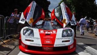 McLaren F1 GTR Start, Rev and Accelerate