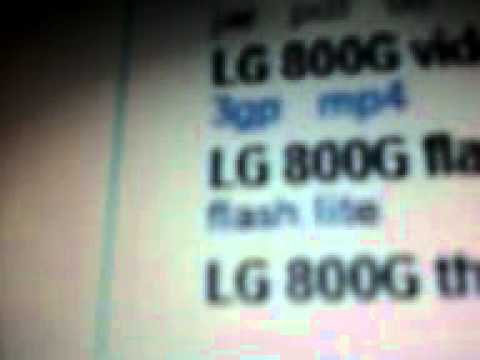 How To Download Apps To Tracfone LG 800G
