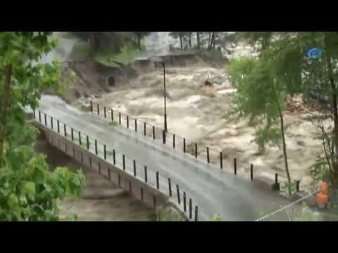 Las inundaciones desbordan el río Garona y ponen en emergencia el Vall d'Aran