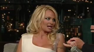Pamela Anderson Interview on David Letterman