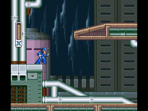 Mega Man X - Mega Man X - Part 1 Intro Stage and Ice Penguin - User video