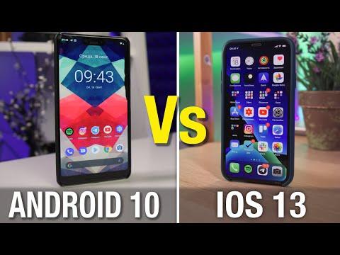 ЛИДЕР ИЗМЕНИЛСЯ? Android 10 или IOS 13 - кто лучше?