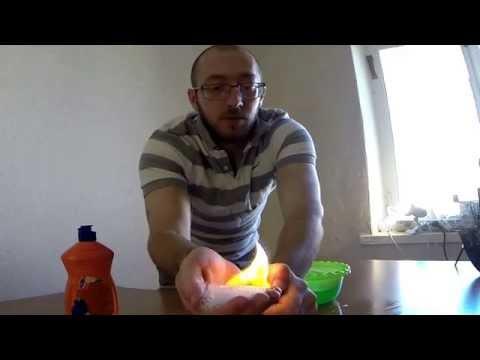 Как подпалить себя и остаться невредимым! Клевый эксперимент с огнем!!!
