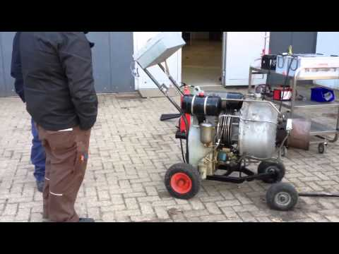 starting gas turbine generator after maintenance