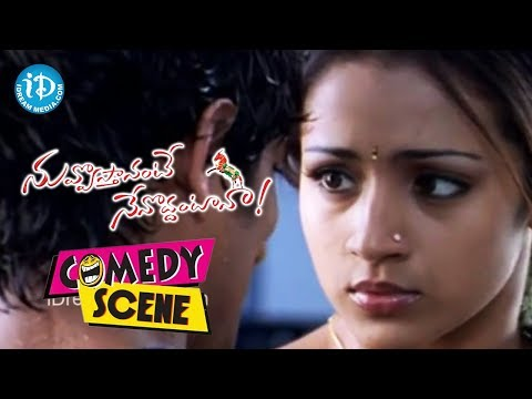 Siddharth,trisha Hot Romantic Scene - Nuvvostanante Nenoddantana Movie video