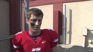 Postgame: Dayton Football vs Robert Morris