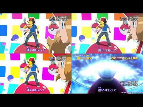 Pokemon XY Opening 3 All version