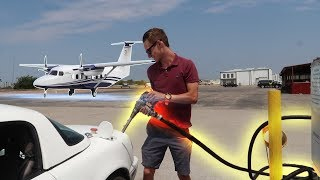 We Put AIRPLANE Fuel In Our Racecar!