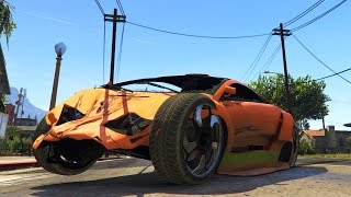GTA 5 PC Mods GTA IV Damage Mod Realistic Crash Deformation