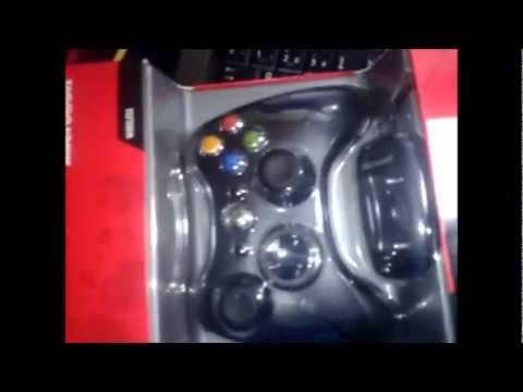 Unboxing Microsoft Wireless Gamepad Xbox360/PC [Español]
