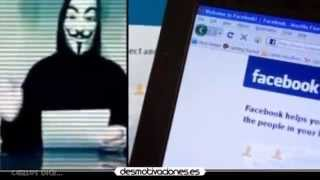 Anonymous sigue amenazando con eliminar Facebook el 5 de Noviembre