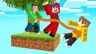 MINECRAFT But You HAVE TO STAY TOGETHER! (Leave = DIE)