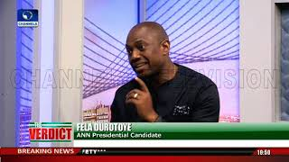 A Vote For APC Or PDP Means Recouping What Was Spent On Campaigns - Durotoye