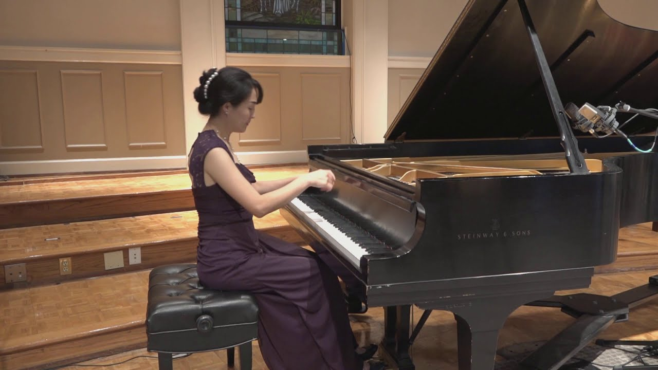 Beethoven's Sonata No. 30 in E Major, Op. 109, Mvnt. 1 and 2, performed by Dr. Rachel KyeJung Park