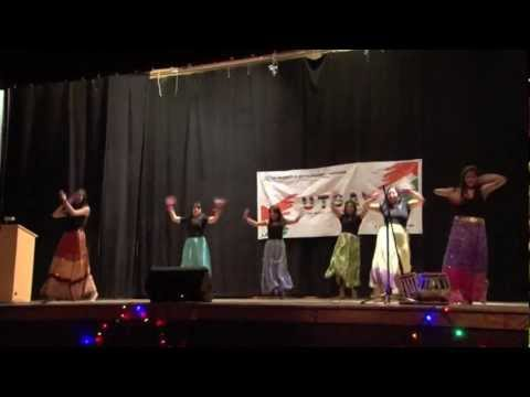 Bollywood Dance - Mind Blowing Mahiya rangeelo Maro Dholna - Mehfil 2012 video