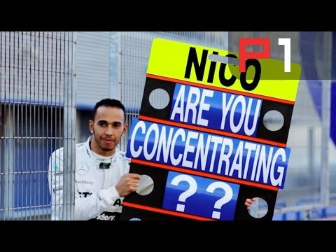 Who is fastest – Lewis Hamilton or Nico Rosberg?