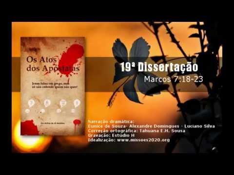 Áudio-book: Os Atos dos Apóstatas - 19ª Dissertação