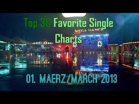 Top 30 Favorite Single Charts März 2014
