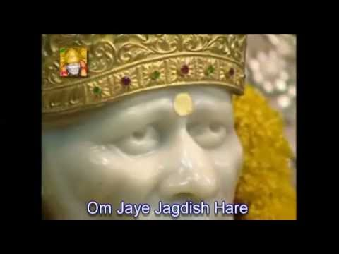 Om jai jagdish hare...with lyrics(www.saibabavandna.blogspot...