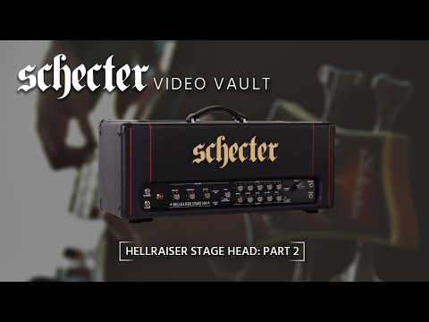 Schecter Hellraiser Stage Amp Rig Run Down Part 2 video