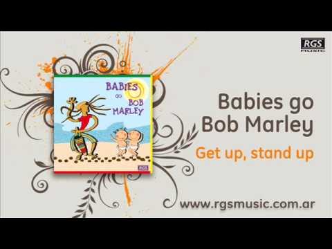 Babies go Bob Marley - Get up; stand up