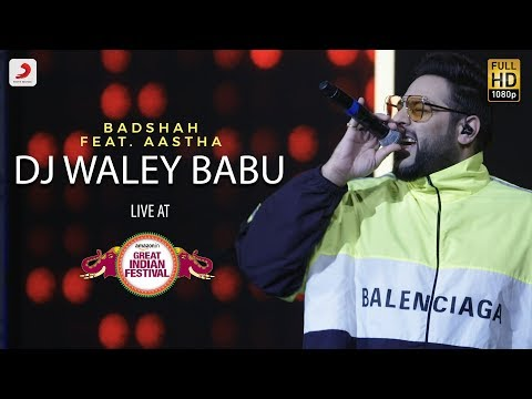 DJ Waley Babu - Live @ Amazon Great Indian Festival | Badshah | Aastha