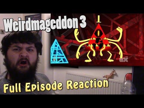 Gravity Falls - Weirdmageddon 3 - Season 2 Episode 20 - Finale [FULL EPISODE REACTION] - MrFreakins