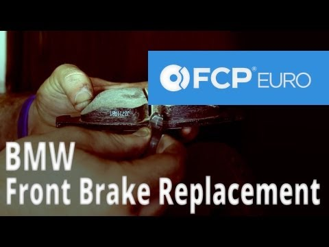 BMW Brake Replacement (E92 Front Sensor. Pads & Rotors) FCP Euro