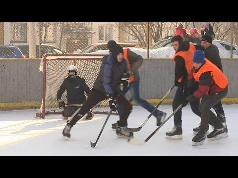 Специальный репортаж Турнир по дворовому хоккею в Бийске (Объединённое телевидение наукограда)