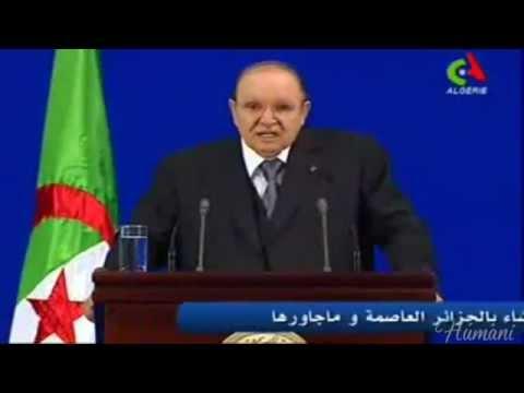 Discours d'adieu  du President  Abdelaziz Bouteflika