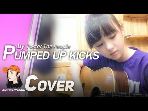 Pumped Up Kicks - Foster The People (cover By 12 Years Old Jannina W.) video