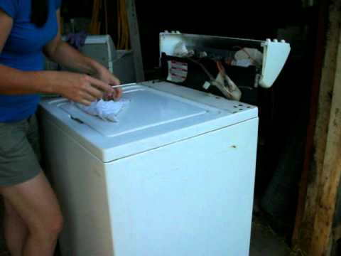 How To Repair An Over Filling Kenmore  Whirlpool Washing