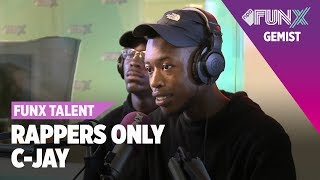 C-Jay - Andere Flow | FunX Talent Rappers Only | Eerste Ronde