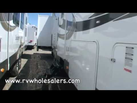 2010 Sandpiper 355QBQ Fifth Wheel Camper at RVWholesalers.com 025089 - Satin