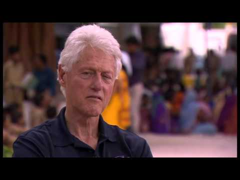 Bill Clinton on his and Hillary's 52-year deal - Newsnight