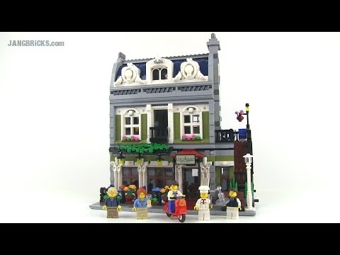 LEGO Creator Parisian Restaurant 10243 modular building Review!