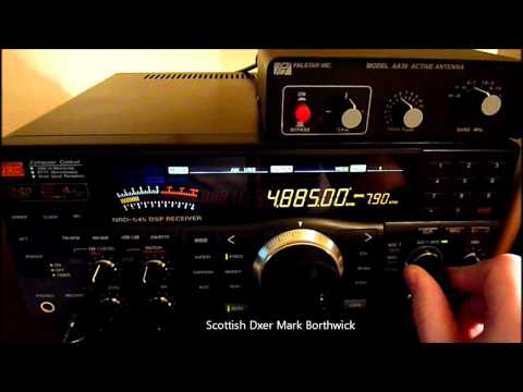 Tropical Band DX 4885khz Radio Clube do Para Brazil Received In Scotland