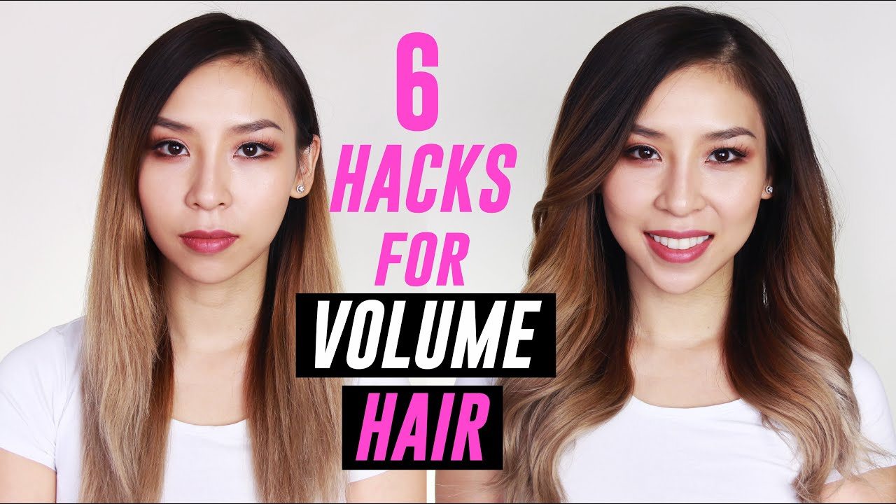 Hair Hacks for Big Voluminous Hair | Tina Yong