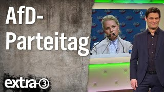 Christian Ehring: AfD-Parteitag in Hannover | extra 3 | NDR
