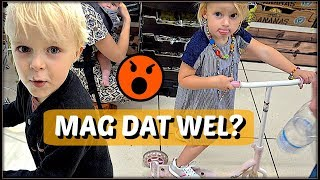 STEPPEN iN SUPERMARKT! 😱 | Bellinga Familie Vloggers #1097