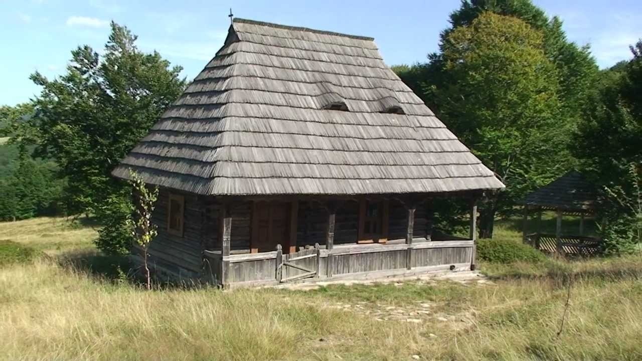 Maramures Budesti Traditional Wooden House Hd M2ts Youtube