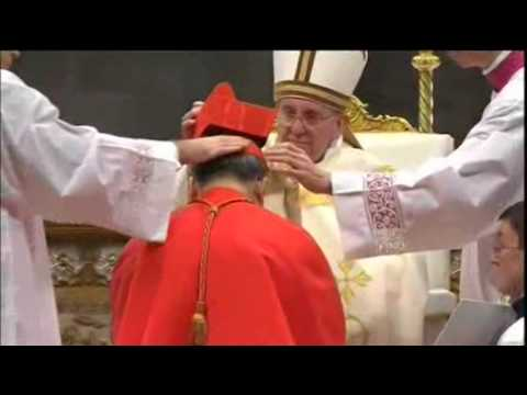 Both Living Popes on Hand as New Cardinals Inducted