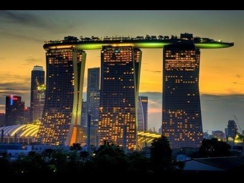 Singapore отель Marina Bay Sands - 1 часть