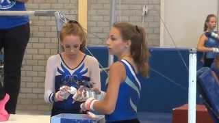 Mara turnen - gymnastics, 2e divisie Junior, TVK (Turn Vakantiekamp) Haarlem, Juli 2015, HD