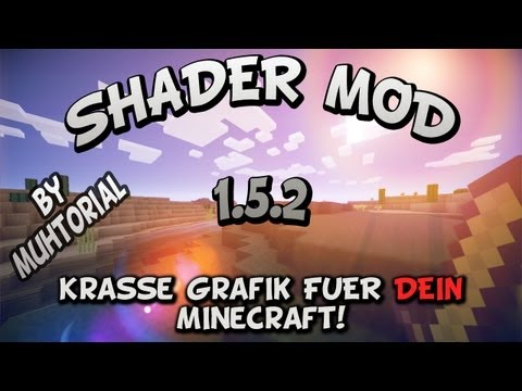 Minecraft Mods 1.5.1 - KRASSE GRAFIK FR DEIN MINECRAFT! - SHADER MOD 1.5.1 [German/English Subtitles]