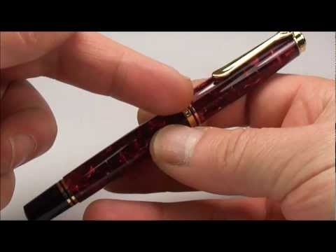Pelikan M600 Ruby Red Fountain Pen Review