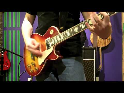 GUITAR TONE - VOX AC30C2 - LES PAUL vs STRATOCASTER vs TELECASTER