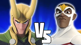 Falcon VS Loki - Disney Infinity BATTLES!